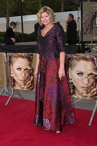 Susan Graham - Graham at the Metropolitan Opera opening in 2008