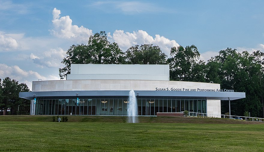 The Susan S. Goode Fine and Performing Arts Center opened in March 2019.