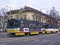 Szeged 1-es villamos Bécsi körút 2012-01-16.JPG