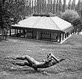 Szentendre, Ady Endre utca 6-b. Kerényi Jenő szobrászművész Emlékmúzeuma (ma kávéház). Fortepan 22235.jpg
