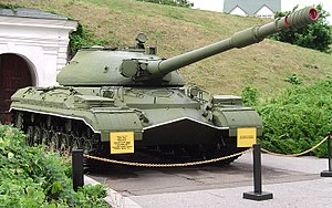 T-10 tank - T-10M at the Museum of the Great Patriotic War