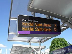 Île-de-France tramway Line 5 - Image: T5 Station Garges Sarcelles 4