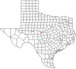 Lohn, Texas - Location of Lohn in the state of Texas.