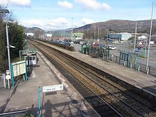Taffs Well railway station