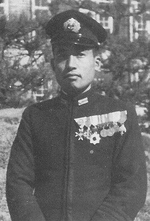 Takahide Aioi - Aioi while with the Ōita Air Group in 1940 or 1941