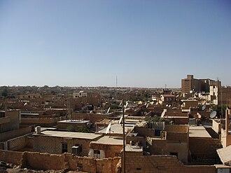 Al-Hasakah - Image: Tal hajar Quarter in AL Hasakah