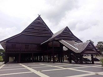 Sultanate of Gowa -  Tamalate Palace in Sungguminasa, Gowa Regency