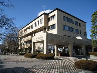 Tamamura Town in Kantō, Japan