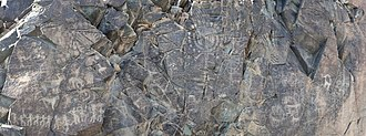Almaty Region - Tamgaly main petroglyph