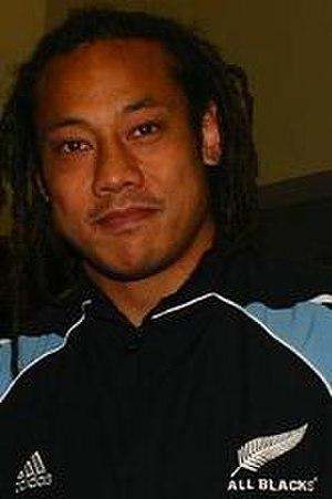 Samoan New Zealanders - Tana Umaga, of the All Blacks