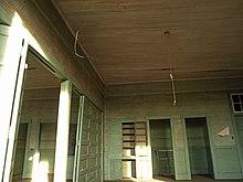 Inside a Rosenwald School.