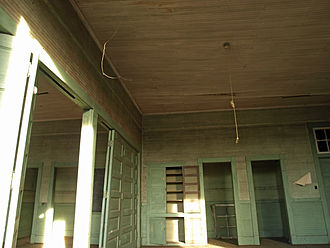 Rosenwald School - Interior of a Rosenwald School