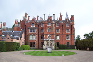 Taplow Court - A view of the front of Taplow Court