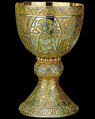 Tassilo III, Duke of Bavaria - The Tassilo Chalice, c. 780 (reproduction)
