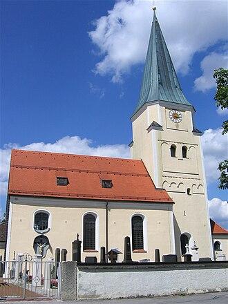 Taufkirchen (bei München) - Church of Saint John the Baptist