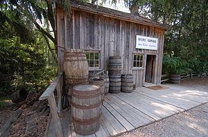 Black Creek Pioneer Village - Image: Taylor's Cooperage