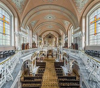 Telšiai - Telšiai Cathedral interior