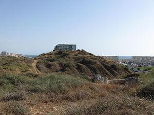 Tel Michal - High mound of Tel Michal