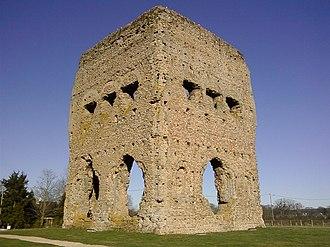 Saône-et-Loire - Image: Temple Janus angle