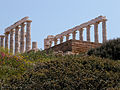 Temple of Poseidon at Sounion (14713071780).jpg
