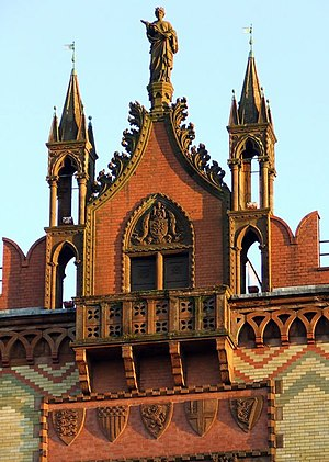 Templeton On The Green - Building detail