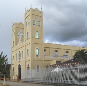 Planeta Rica - Image: Templo Nuestra Señora De La Candelaria