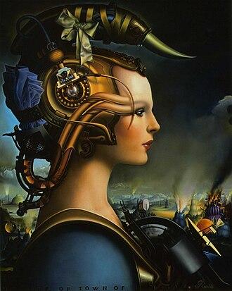 Rallé (artist) - Image: Temptress II