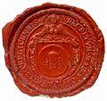 Teplice municipal seal ~1750.jpg