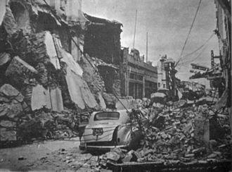 San Juan, Argentina - 1944 San Juan earthquake