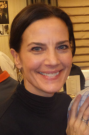 Terry Farrell (actress) - Farrell at the Chiller Theatre Expo, 2013
