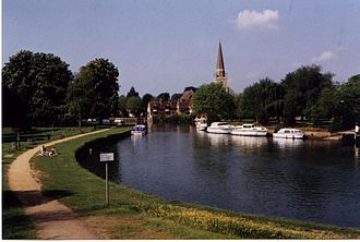 Abingdon-on-Thames - Image: Thames At Abingdon