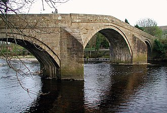 Ilkley - The Old Bridge, Ilkley