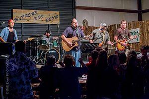 Alma, Arkansas - Live music performance at Warren's Rec Room in Alma