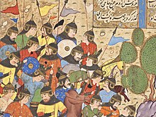 The Battle between Bahram Chubina and Sava Shah LACMA M.2009.44.1 (8 of 9).jpg