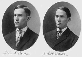 John Renshaw Carson - The Carson twins, from the Princeton University Class of 1907 album