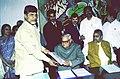 The Chief Minister of Andhra Pradesh Shri N. Chandrababu Naidu calls on the Prime Minister Shri Atal Bihari Vajpayee in New Delhi on December 15, 2003.jpg