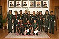 The Chief of Army Staff, General V.K .Singh with Essay Competition Award winners, in New Delhi on May 19, 2010.jpg