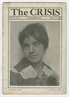 <i>The Crisis</i> Official magazine of the National Association for the Advancement of Colored People