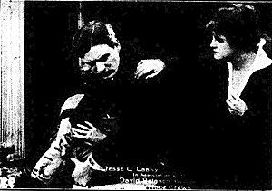 The Fighting Hope - Scene from the film