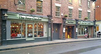 Four Candles - The Four Candles, a pub in Oxford named after the sketch.