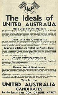 United Australia Party former Australian political party (1931-1945)