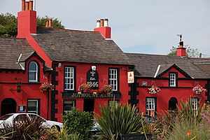 Irish pub - The Joymount Arms, Carrickfergus, County Antrim