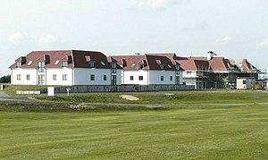 Prince's Golf Club, Sandwich - Image: The Lodge, Prince's Golf Club geograph 2618864 by John Baker