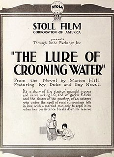 <i>The Lure of Crooning Water</i> 1920 film
