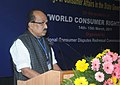 The Minister of State (Independent Charge) for Consumer Affairs, Food and Public Distribution, Professor K.V. Thomas delivering the presidential address at the two day Conference of the Presidents.jpg