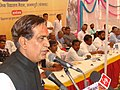 The Minister of State for Environment and Forests, Shri Namo Narain Meena addressing the gathering at a function of Bharat Nirman Public Information Campaign at Anandpuri Banswara, Rajasthan on March 08, 2008.jpg