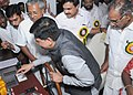 The Minister of State for Power, Coal, New and Renewable Energy and Mines (Independent Charge), Shri Piyush Goyal launching the country's first solar boat, at Vaikkom, in Kerala.jpg