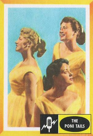 The Poni-Tails - The Poni-Tails in 1960