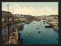 The Port Militaire from swing bridge, Brest, France-LCCN2001697597.tif