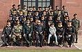 The President, Shri Pranab Mukherjee with the Students and Children from Imphal attending the National Integration Tour, organised by 9 Assam Rifles, at Rashtrapati Bhavan, in New Delhi on January 14, 2017.jpg